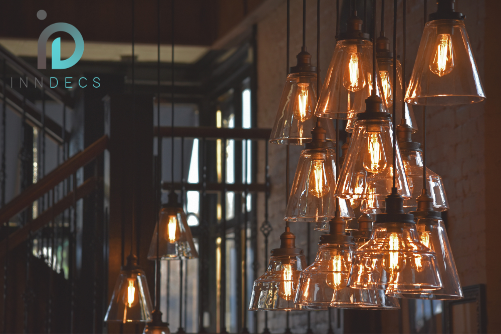 inndecs January 2021 blog header - good lighting - restaurant lighting